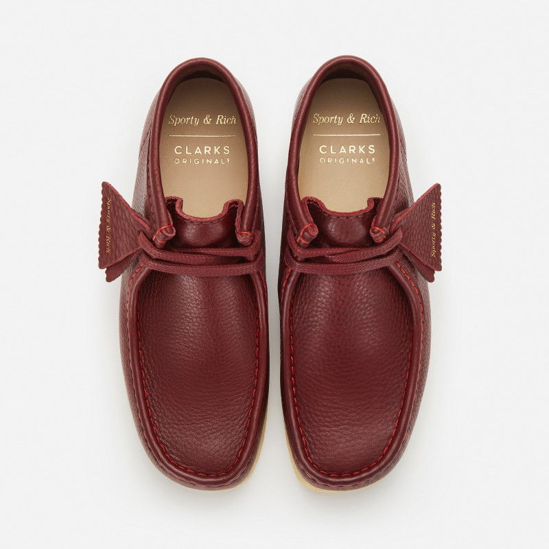 クラークス オリジナルズ_CLARKS ORIGINALS×Sporty & Rich Wallabee Boot_07